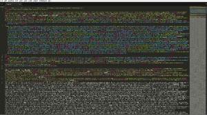 とあるwebサイトのソースコード